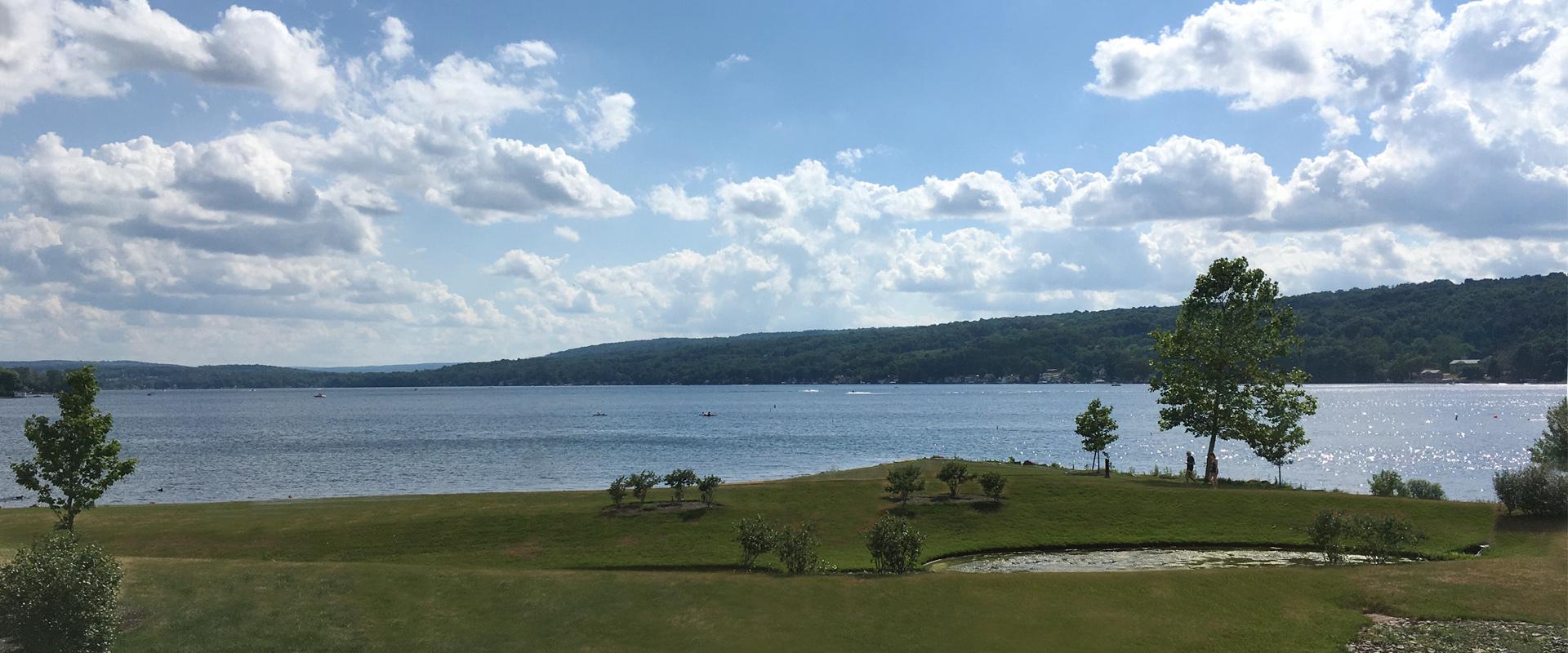 Keuka Lake From The Hampton