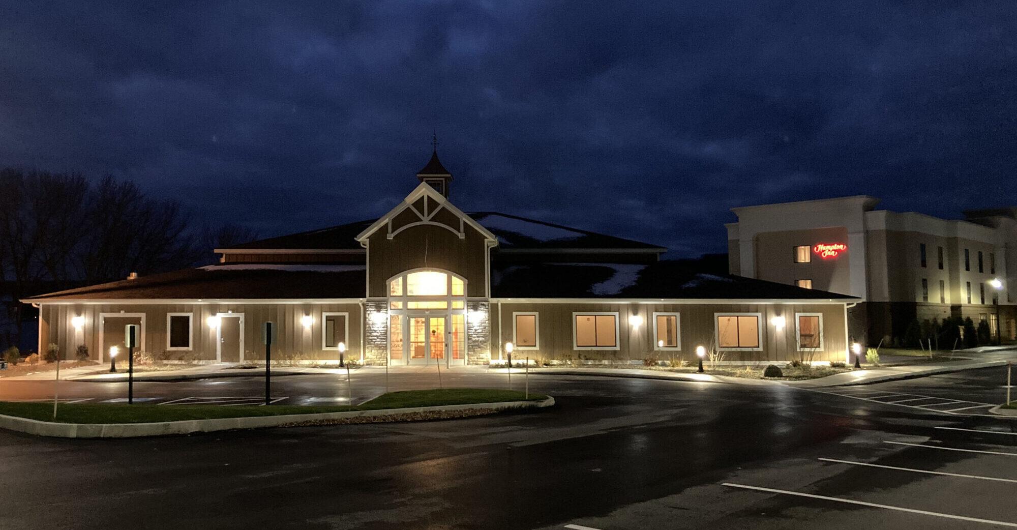 Seasons On Keuka Lake Banquet And Conference Center Night