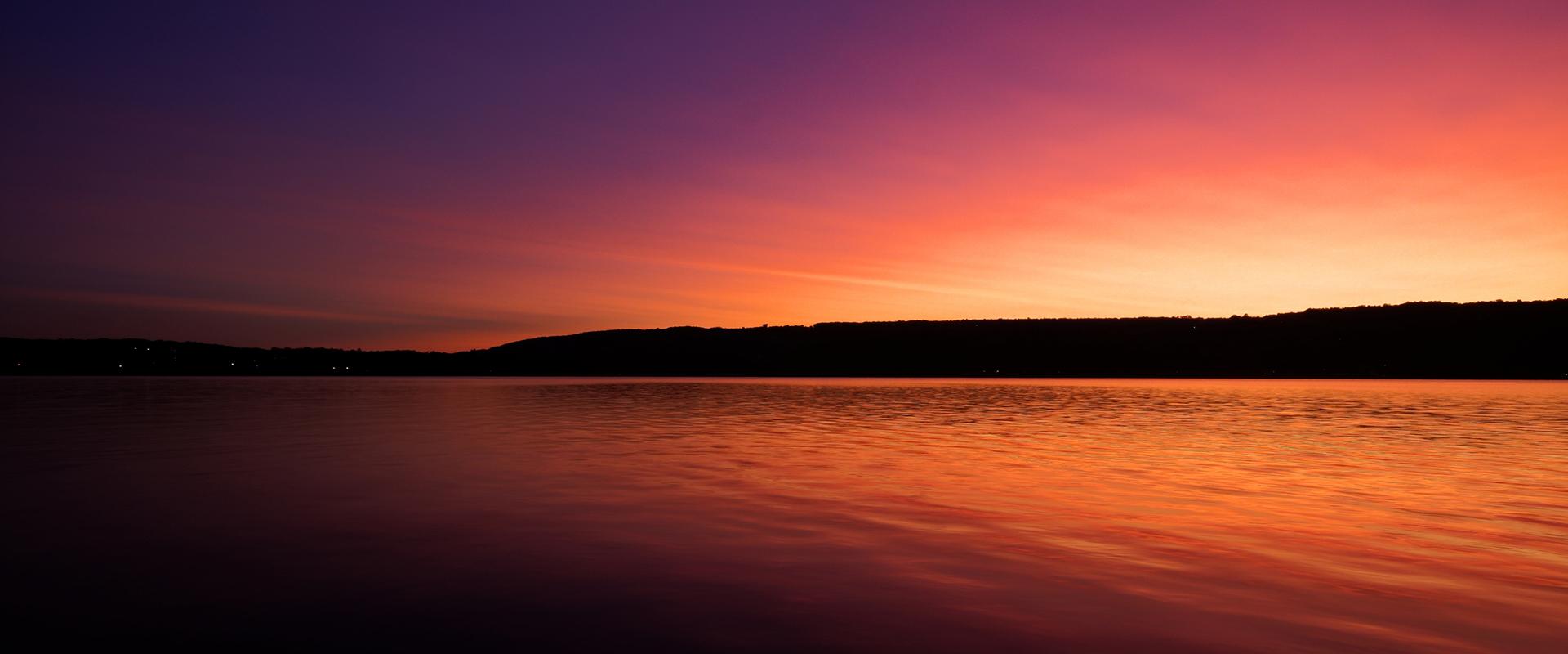 Sunset Keuka Lake Keuka Park
